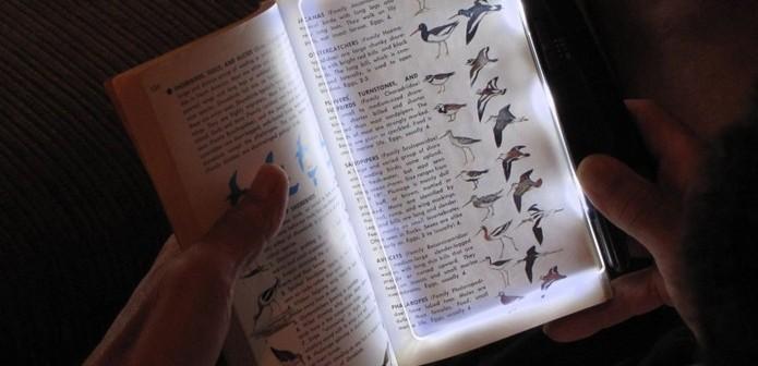 pageglow - para ler o livro no escuro