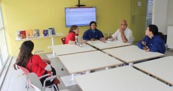 Foto do Entre Textos que discutiu o conto O espelho de Machado de Assis