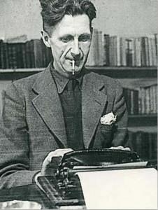 George Orwell - Escreveu livros célebres, como 1984 e A revolução dos bichos.