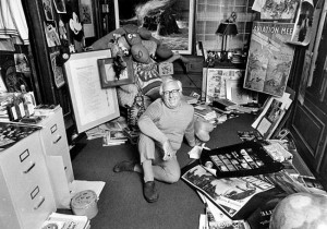 Ray Bradbury - É um dos mais célebres escritores norte-americanos do século XX. Escreveu obras como Fahrenheit 451 e Crônicas marcianas.