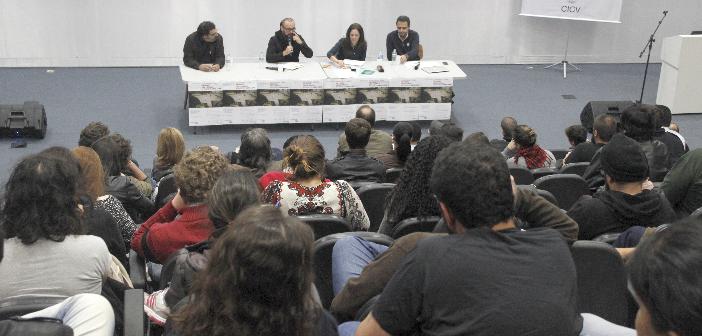 debate sobre jornalismo de guerra na bvl - capa
