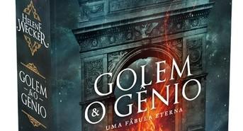 Capa do livro Golem e o gênio