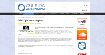Oficinas gratuitas de fotografia   Portal Cultura Alternativa