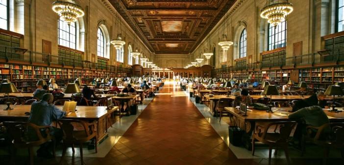 Biblioteca Pública de Nova York (Foto: wikimedia commons).