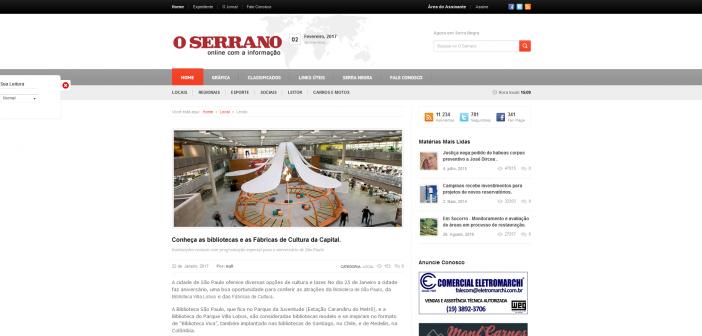 Jornal O Serrano