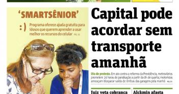 jornal metro - capa