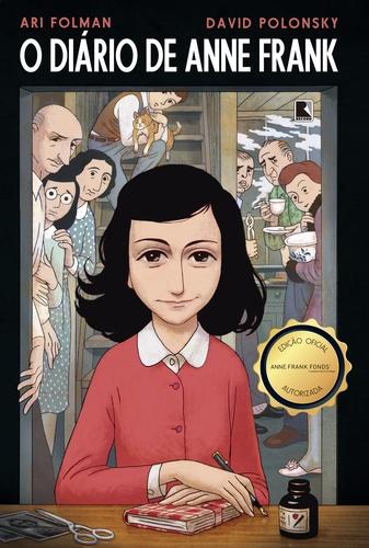 Capa O Diario de Anne Frank em quadrinhos MF V4.indd