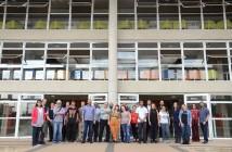 Equipes do Acessa Campus, da SP Leituras e residentes. Foto: Equipe SP Leituras