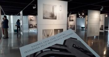 Venha visitar a exposição de fotografias sobre a arquitetura de Kaunas, segunda maior cidade da Lituânia