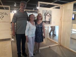 Paulo, Ana Arlinda com a mãe Antonia Bezerra de Oliveira (ao centro). Foto: Equipe SP Leituras.