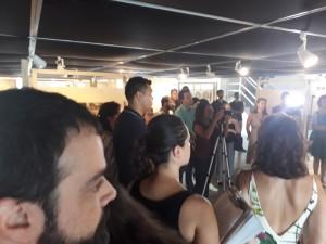 Abertura da exposição Lembra, corpo? na BVL. Foto: Equipe SP Leituras.