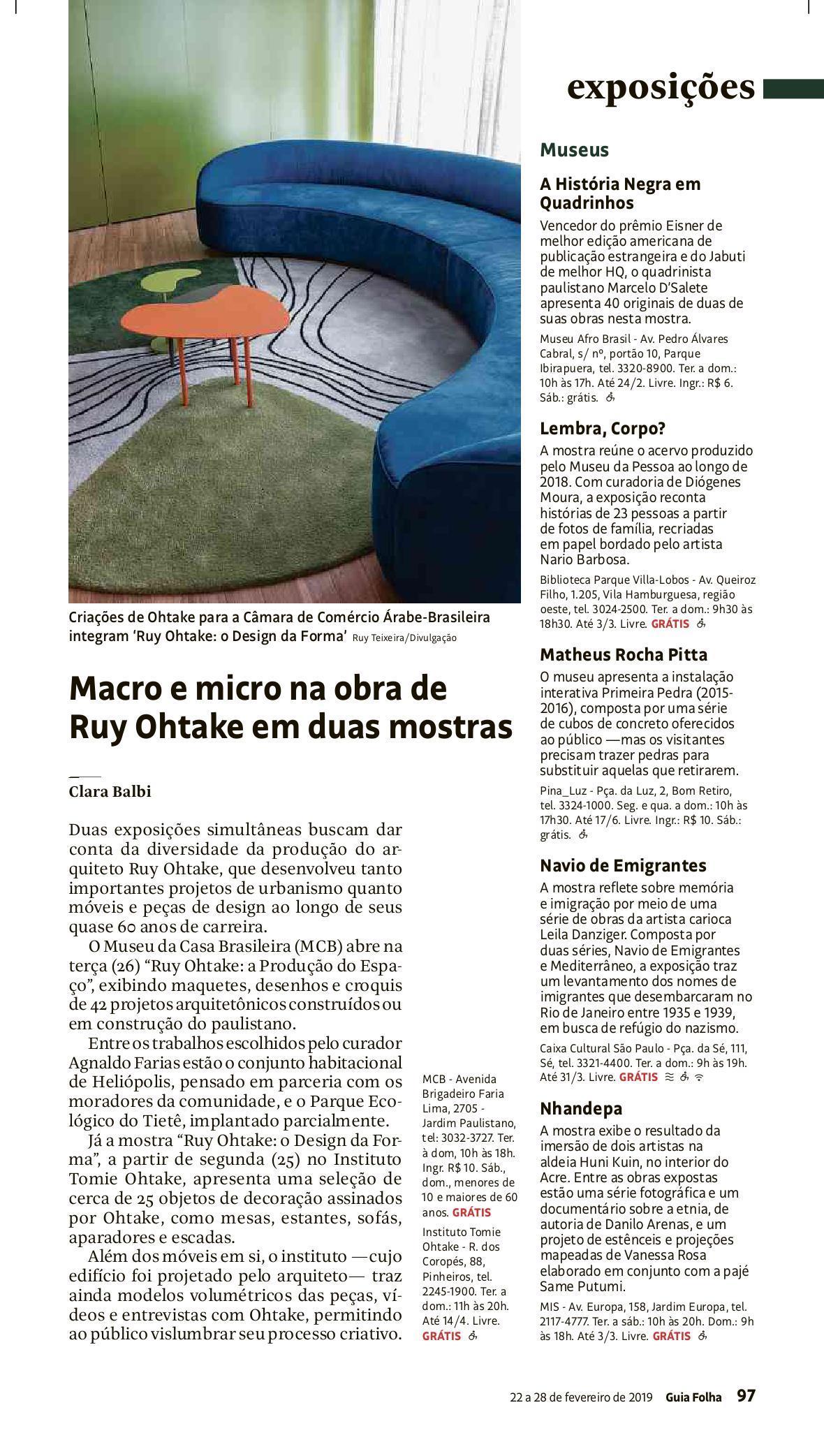 Folha de S.Paulo / Guia da Folha / Reprodução