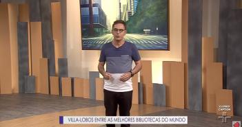 Reprodução / TV Cultura / Programa Metrópolis