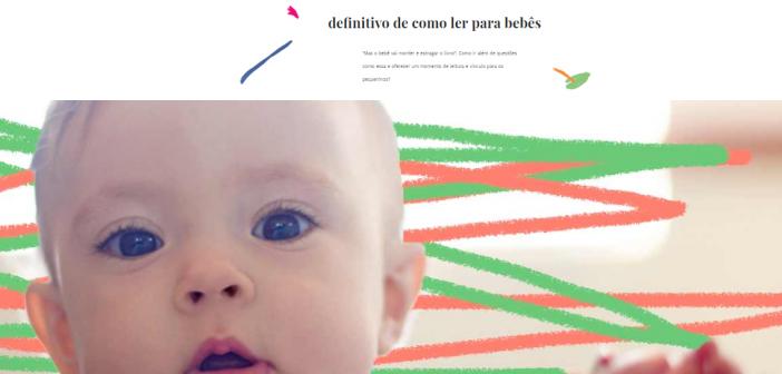 Lê no Ninho está em matéria do Lunetas sobre a importância de ler para bebês