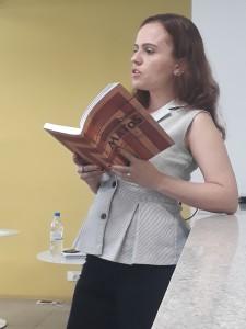 Naiara Costa dos Santos. Foto: Equipe SP Leituras.