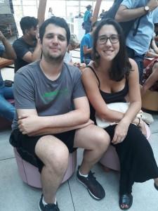 Diego e Marina. Foto: Equipe SP Leituras.