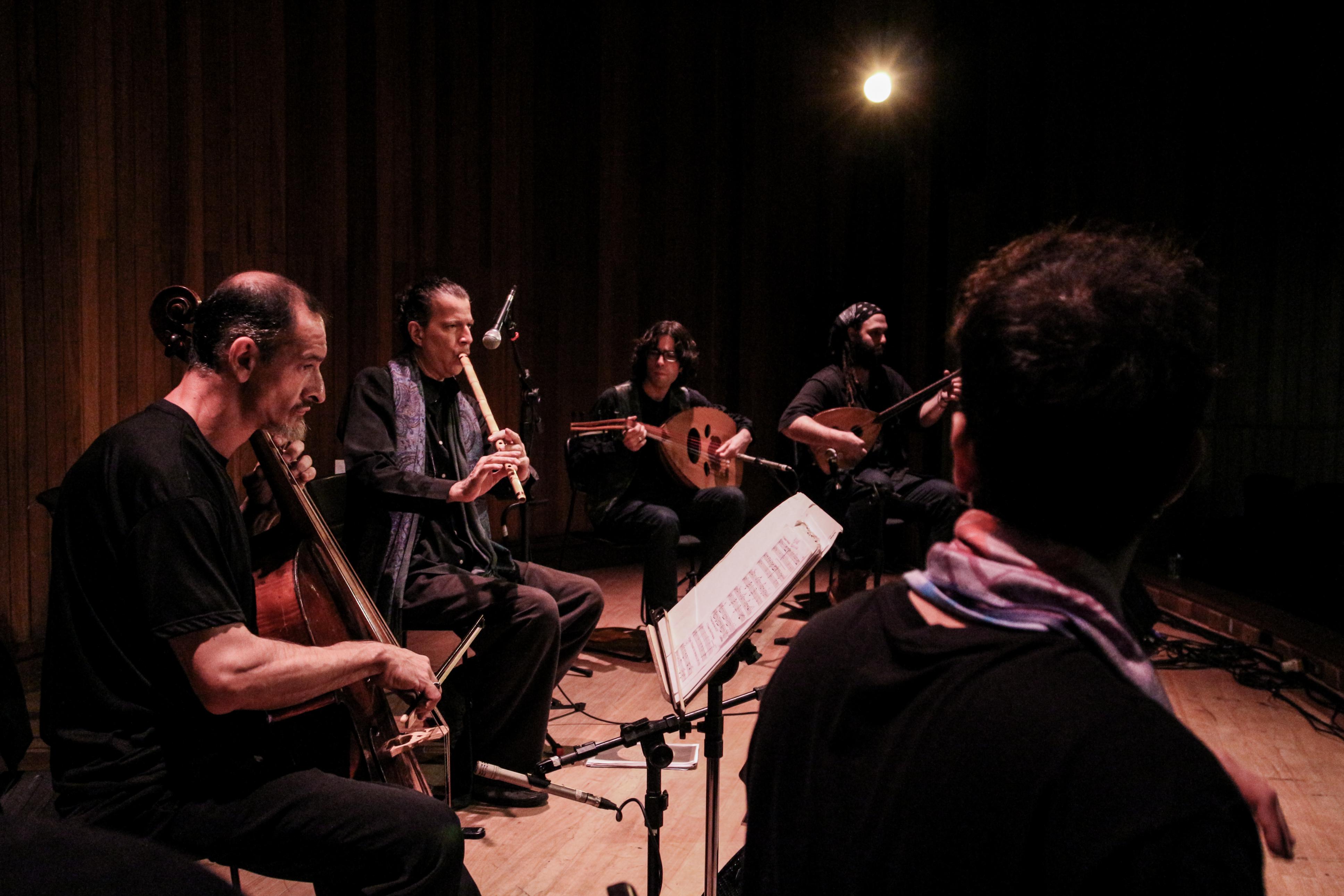 Yaqin Ensemble. Foto: Divulgação.