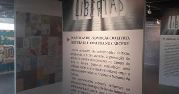 Exposição Libertas. Foto: Equipe SP Leituras.