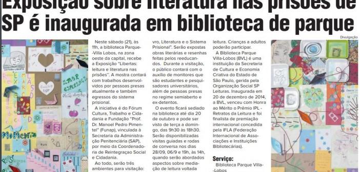 Exposição na BVL ganha espaço em publicação
