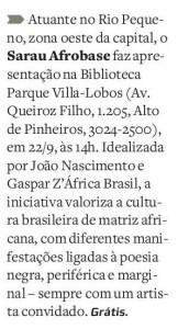 Reprodução / O Estado de S. Paulo.