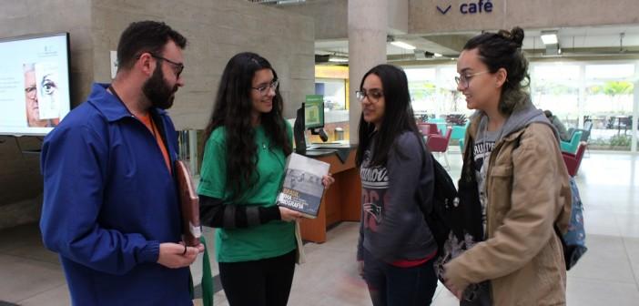 BVL convida público a ouvir trechos de livros no Festival Mário de Andrade