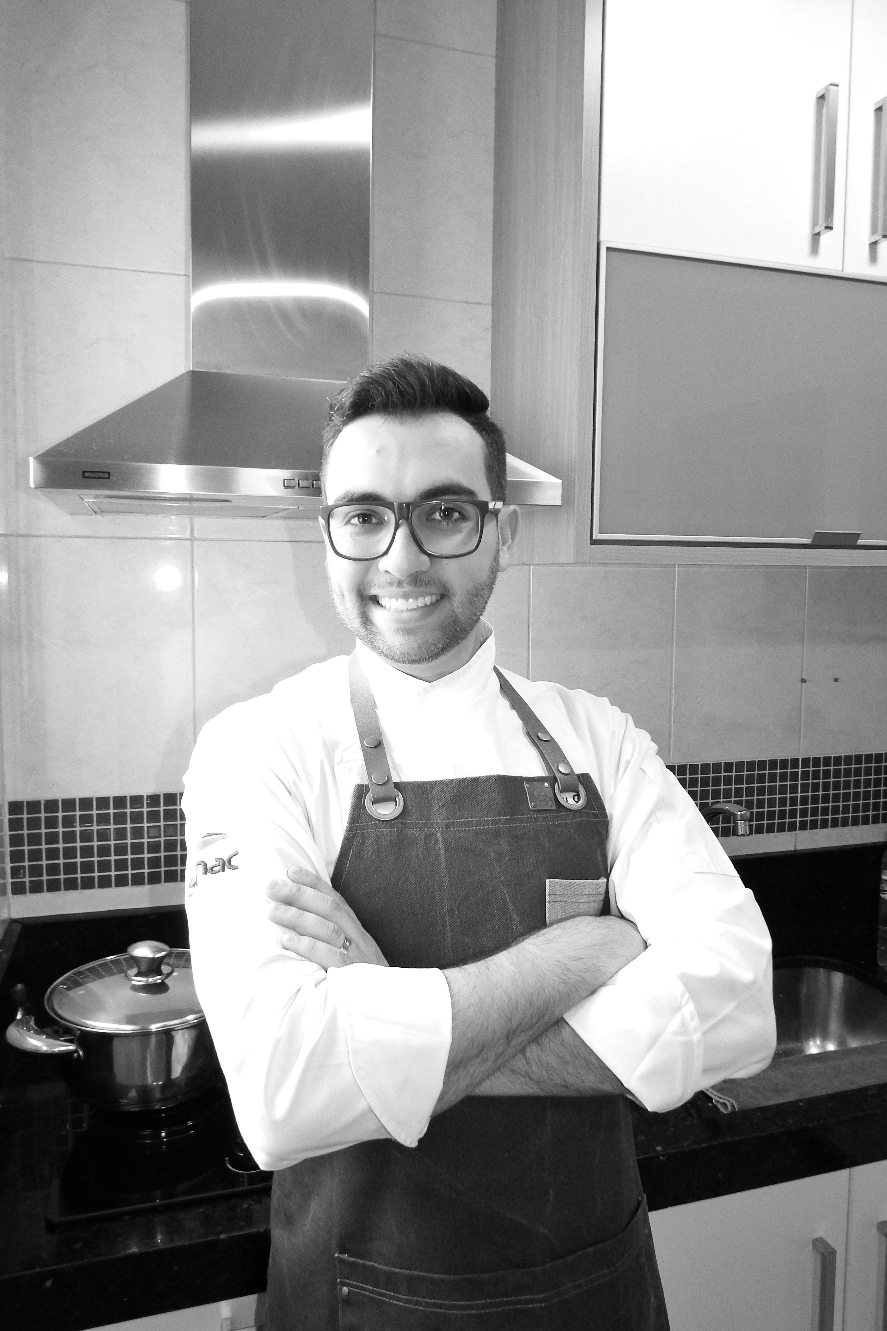 Chef Andy Giacometti. Foto: Jana Silvestre.