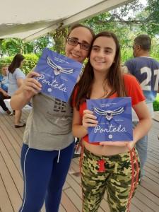 Marina e a filha Manuela. Foto: Equipe SP Leituras.