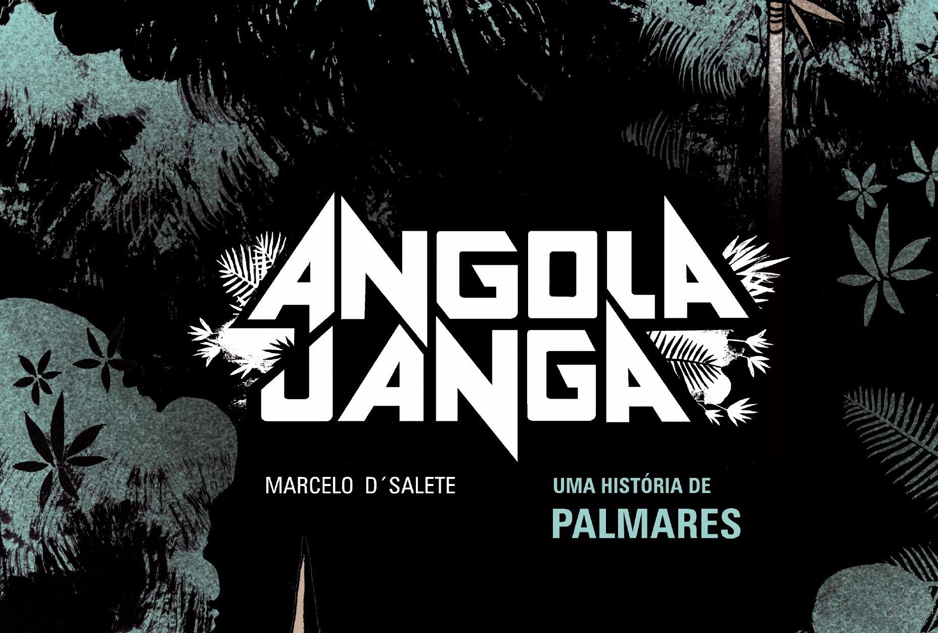 """Capa da grahic novel """"Angola Janga"""" (Veneta), de Marcelo D'Salete"""