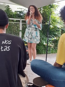 Carol Maria. Foto: Equipe SP Leituras.