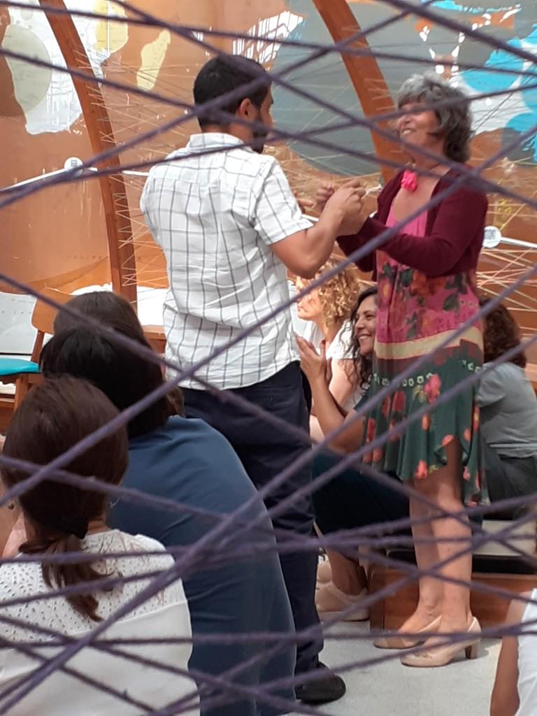 Evelyn e Divino. Foto: Equipe SP Leituras.