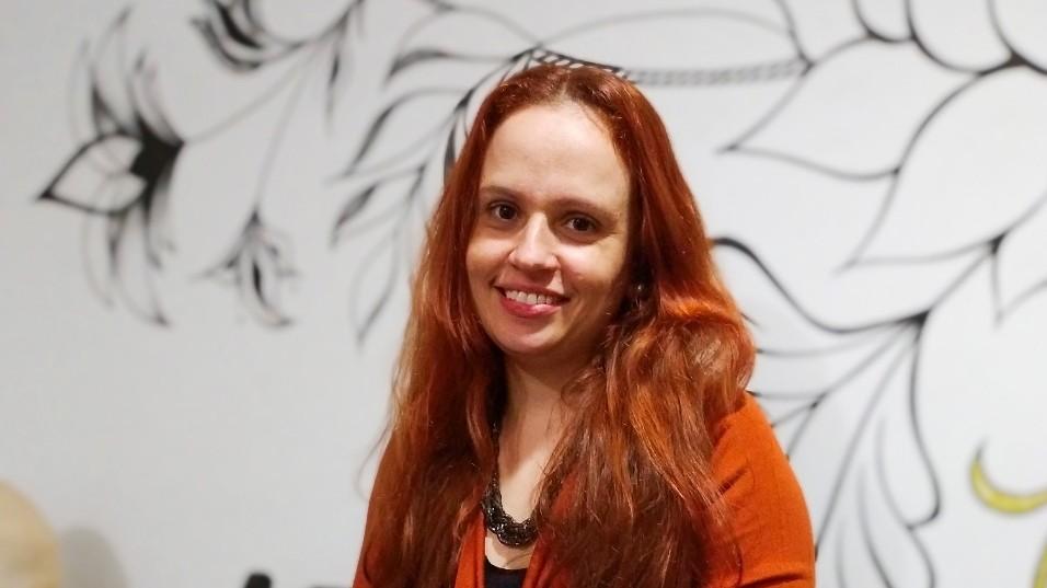A professora Naiara Costa