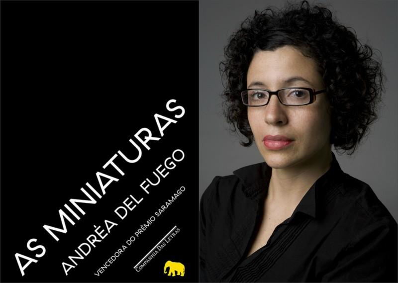 A escritora Andréa del Fuego. Foto: Divulgação