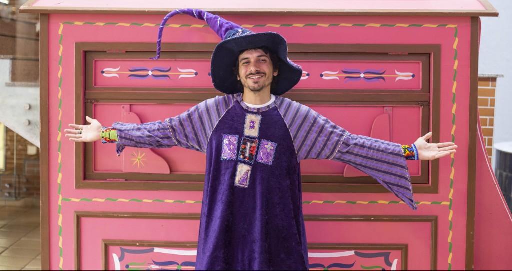 O poeta Jonas Samaúma. Foto: Divulgação/ Ana Clara Amato