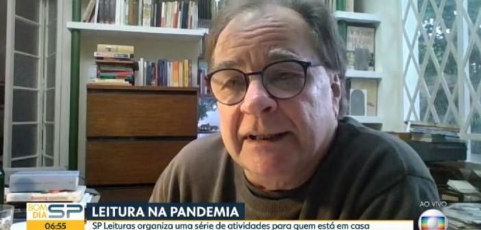 Diretor-executivo da SP Leituras fala sobre programação e livros na TV Globo