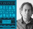 """Capa de """"ideias para adiar o fim do mundo"""" e  seu autor, Ailton Krenak. Foto: Montagem/ Divulgação"""