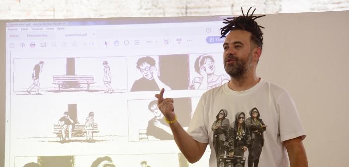 Em oficina online, Renan Inquérito ensina as bases da poesia concreta e visual
