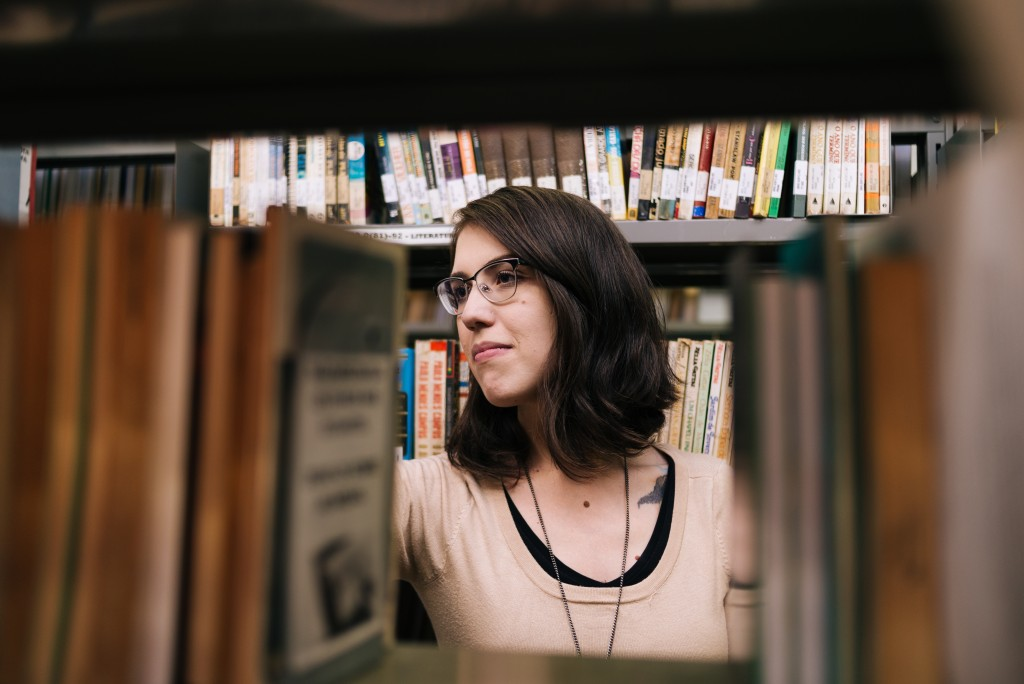 Luisa Geisler. Foto: Desirée Ferreira.