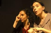 Mirela e Amarilis. Foto: Karina Bacci.