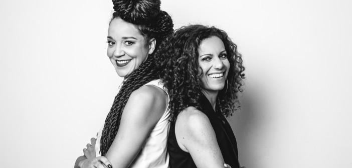 Roberta Estrela D´Alva e Tatiana Lohmann. Foto: Renato Nascimento.