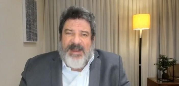 Mario Sergio Cortella participa de campanha de doação de máscaras