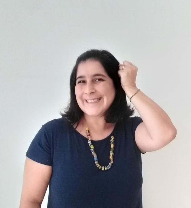 Sabrina Caires de Garcia. Foto:  Acervo pessoal.
