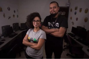 Tainá Felix da Silva e Jaderson Souza. Foto: Reprodução.