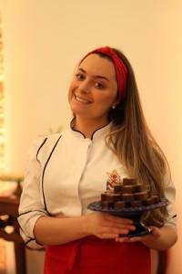 A professora de confeitaria Laís Lais Berlatto. Foto: Juraci Vieira