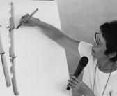 Ilustração e poesia somam forças em atividade online com Lúcia Hiratsuka