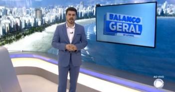 TV Record Litoral / Reprodução.
