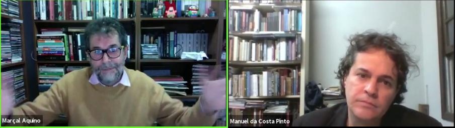 Em bate-papo, Marcal Aquino conta a Manuel da Costa Pinto sobre seu novo livro, a trajetória e a influências.