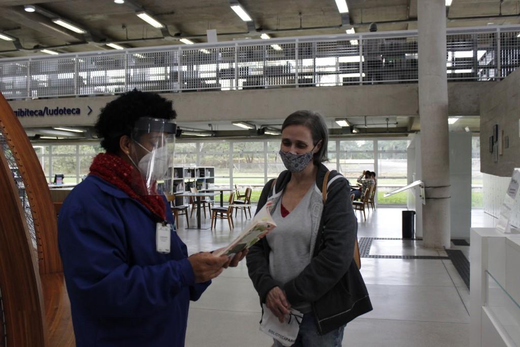 Licença Poética. Foto: Equipe SP Leituras.